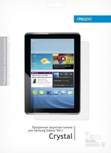 Защитная пленка для Samsung GALAXY Tab 2 7.0 P3100 Deppa прозрачная SotMarket.ru 390.000