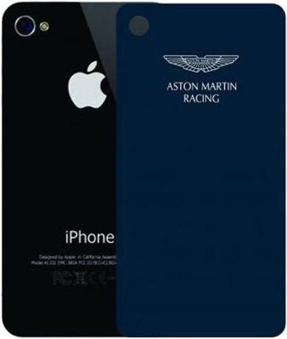 Наклейка на Apple iPhone 4 Aston Martin Racing SGIPH4001 SotMarket.ru 1190.000