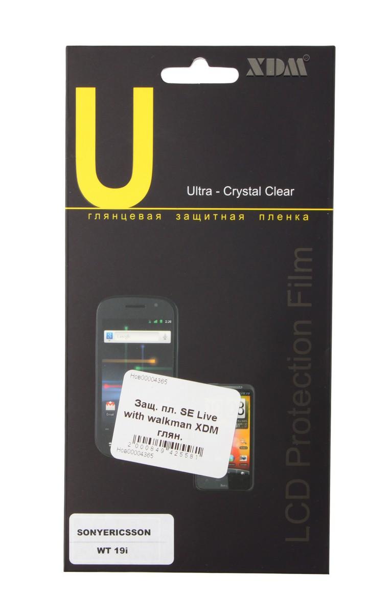 Защитная пленка для Sony Ericsson Live with Walkman Media Gadget Premium (RTL) SotMarket.ru 140.000