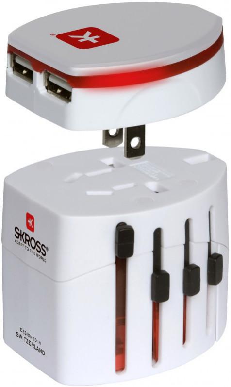 Универсальное зарядное устройство SKROSS World Adapter Evo USB SotMarket.ru 1360.000
