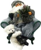 Maxitoys дед мороз в кресле