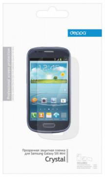 Защитная пленка для Samsung Galaxy S3 mini i8190 Deppa прозрачная Защитная...
