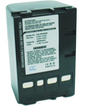 Аккумулятор для Panasonic NV-VS7 CGR-V620 (повышенной емкости) Аккумулятор для...