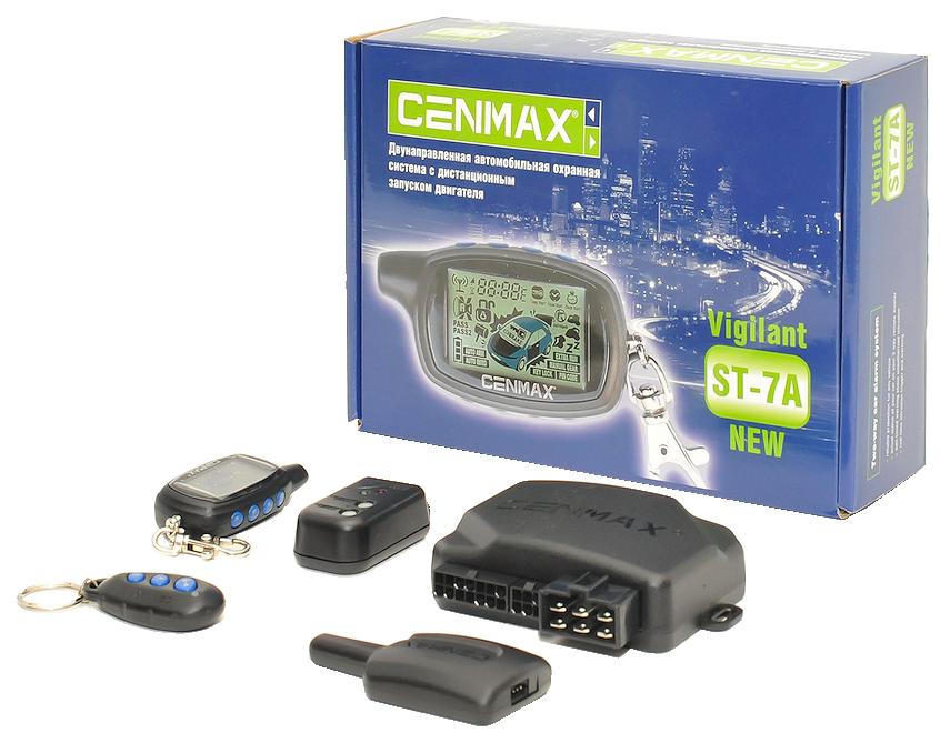 Автосигнализация Cenmax Vigilant ST-7A - надёжная, удобная и дальнобойная сигнализация с двусторонней связью.
