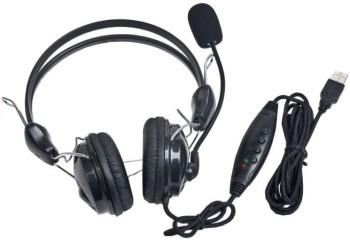 Наушники с микрофоном Gembird MHS-200-USB, ре.