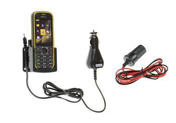 Автомобильный держатель для Nokia 3720 Fix2Car 62202 с зарядкой.  Москва).