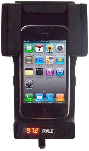 фото Автомобильный держатель для Apple iPod touch 4G Pyle PLPADFM2B.
