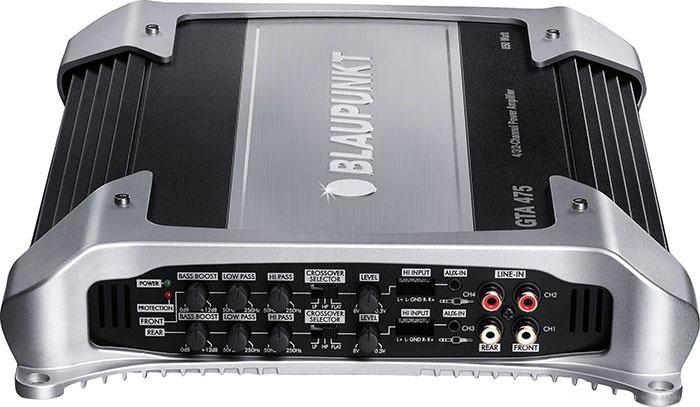 Blaupunkt GTA-475 представляет собой четырехканальный автомобильный усилитель, который позволит вам запитать...