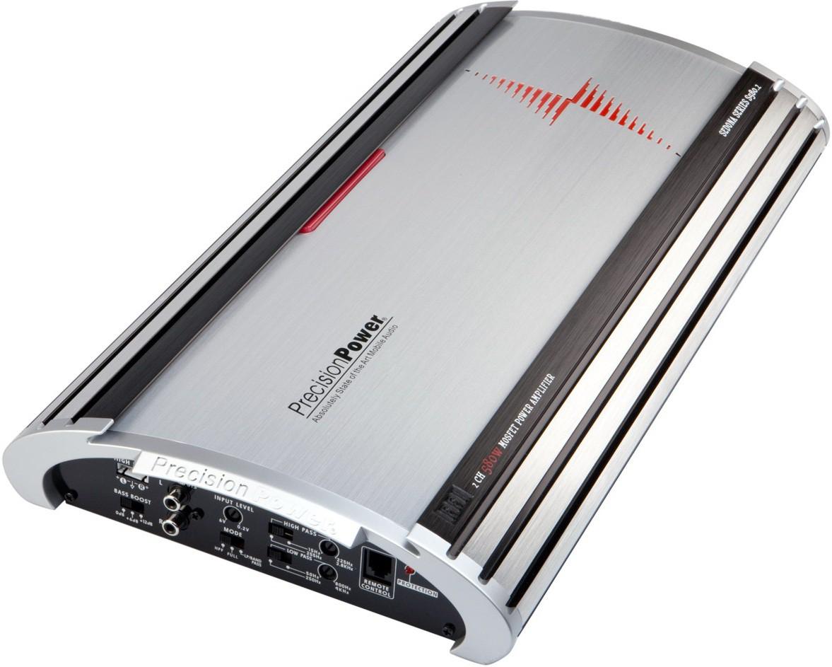 Автомобильный усилитель звука для авто PrecisionPower.