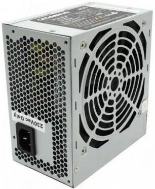 Блок питания Gigabyte ATX 400W GE-C400N-C2 120mm fanб 2*SATA, power cord - фотография 1.