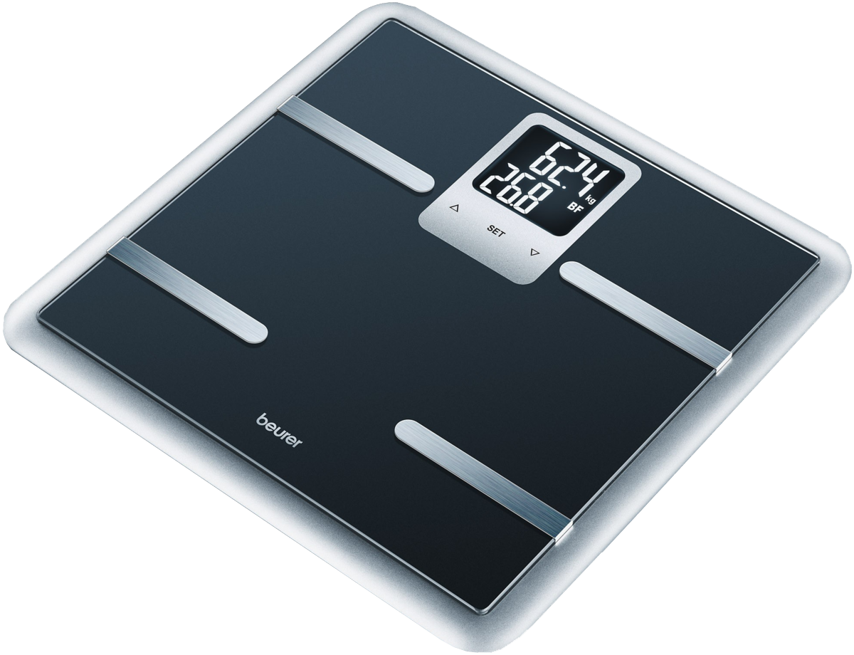 Они позволят определить процентное соотношение жира, воды, мышечной и... Весы...