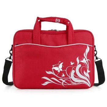 Сумка для ноутбука 14.1'' Defender Butterfly (женская) красная.