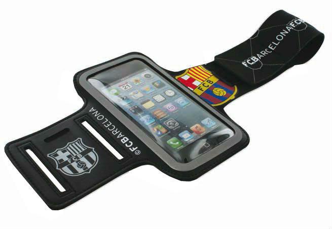 Чехол для Apple iPhone 5 FCBarcelona Armband BRFB001.