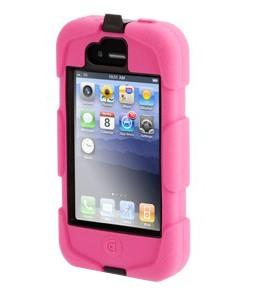 Чехол Griffin iPhone4 GB02476 розовый/черный.