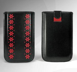 """""""Чехол-сумочка для Nokia 5230 Флора кожаный.  Кожаные.  Чехлы."""