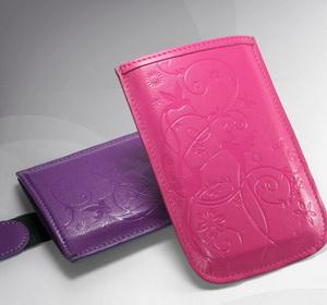 Дизайн, внешность, фотография Чехол-сумочка для Nokia X3 Колибри кожаный.