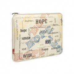 "Чехол для ноутбука 10-11.6 "" G-Cube GNH-10H SoHappyTogether Hope (Beige)"