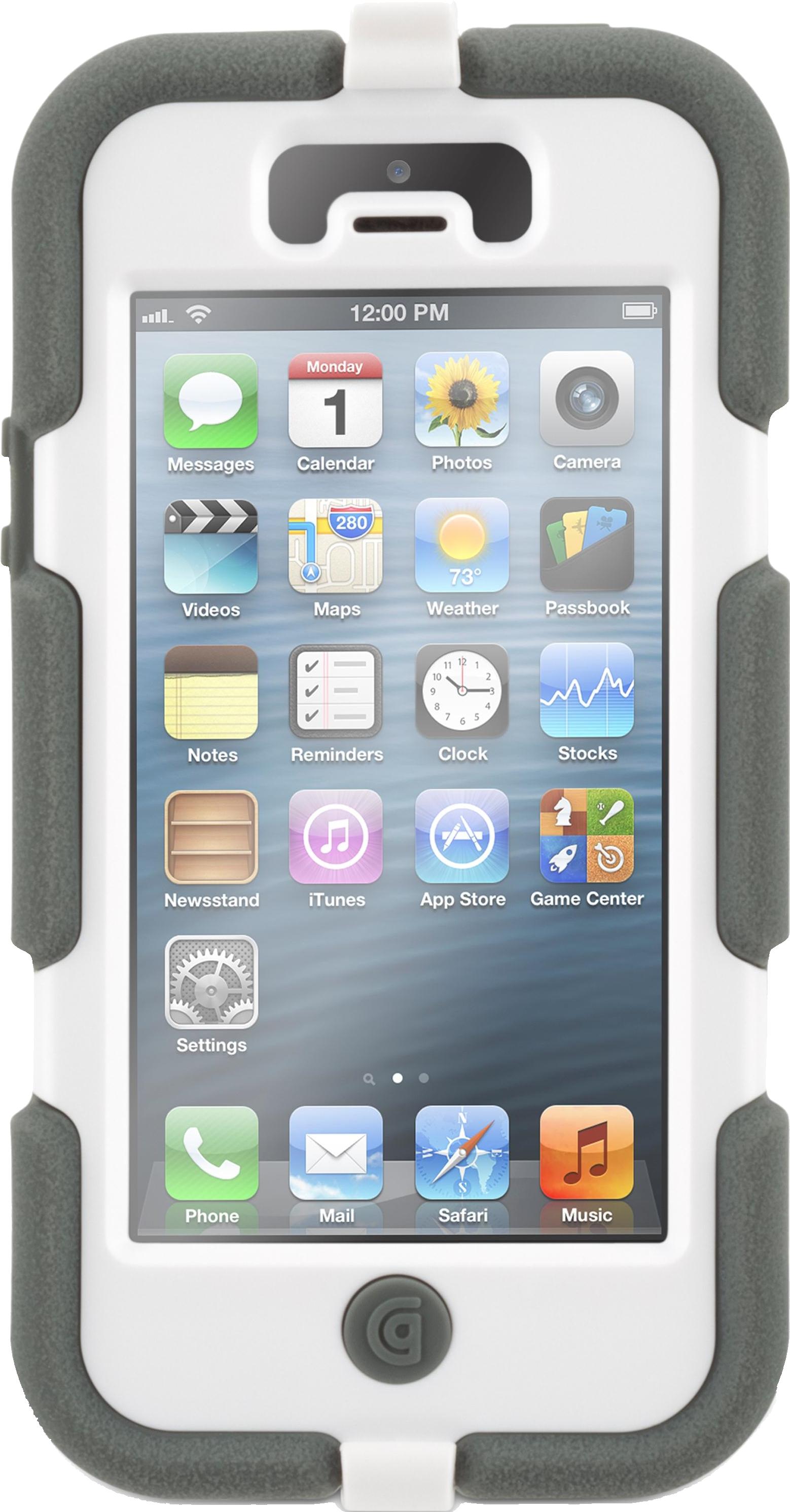76b5cca69174 Чехол для Apple iPhone 5 Griffin Survivor GB35688