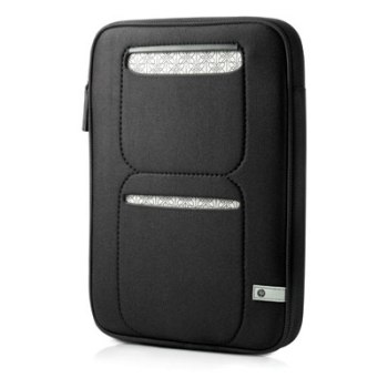 Сумка для ноутбука Hewlett Packard VX403AA Mini 210 Sleeve black-silver.