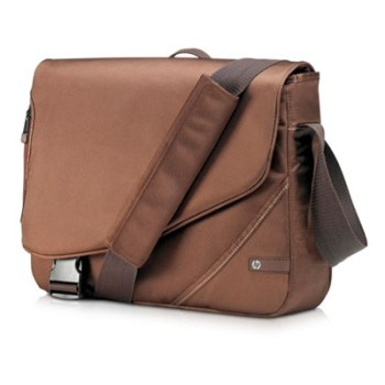 Сумка HP Value Brown Messenger 16.  VZ348AA