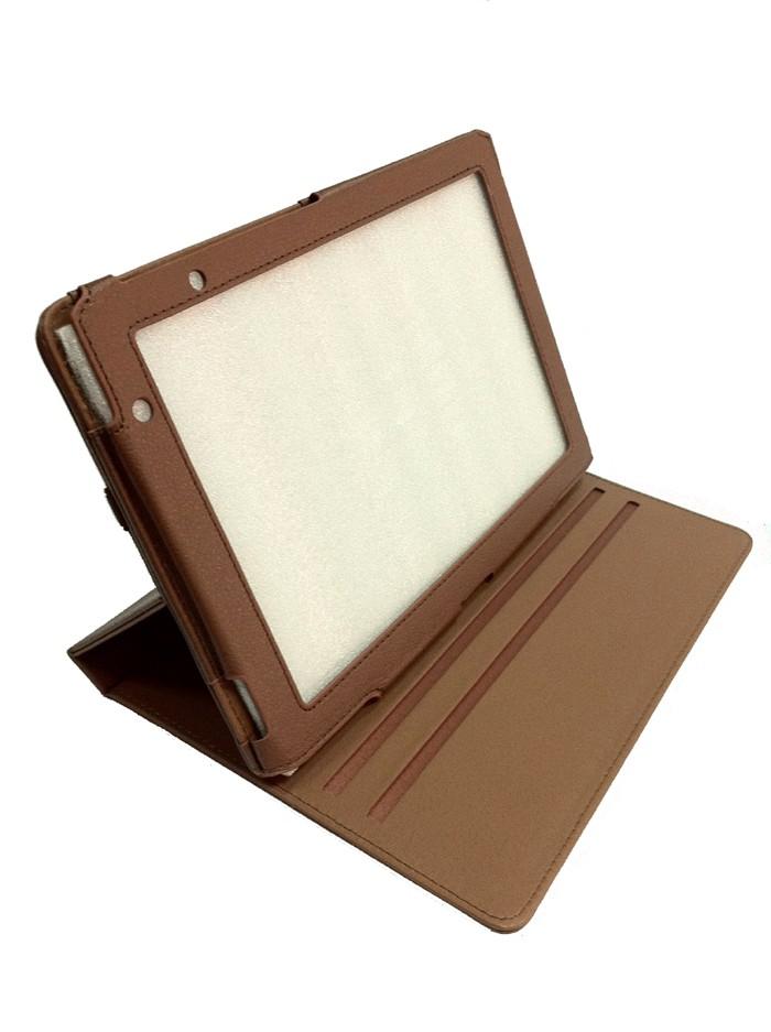 Для просмотра больших фотографий Чехлы для планшетных компьютеров ACER Iconia Tab A500 Brown поворотный нажмите на...