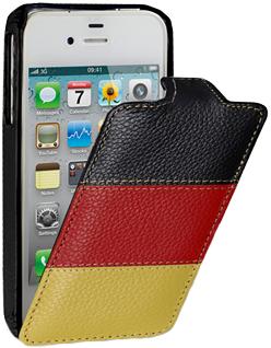 Чехол iBox Чехол - книжка Premium для iPhone 5 флаг Германия.