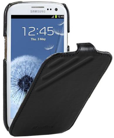 Чехол-обложка для Samsung Galaxy S3 i9300 Melkco Unique выполнен из натуральной кожи, он не только отлично защитит