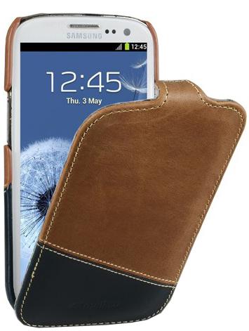 Интернет-магазин ON NO предлагает купить Чехол Melkco Jacka Type для Samsung Galaxy S3 - черный в Костроме.