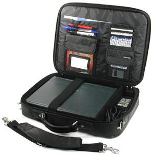 Сумки и чехлы для ноутбуков PortCase Notepack Deluxe (KCB-02BKP).