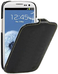 Чехол для Samsung Galaxy S 3 (S III) I9300 Melkco черный.
