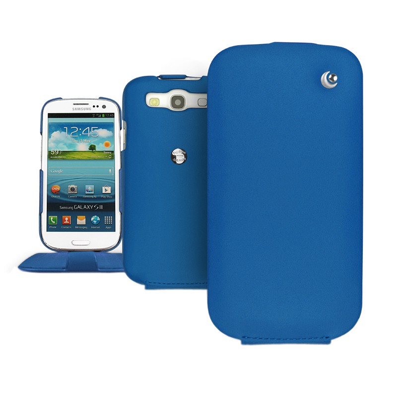Чехол для Samsung Galaxy S3 i9300 Noreve Tradition 21144T8 (Ocean Blue) .
