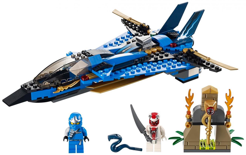 Конструктор LEGO Ninjago Джей и его штормовой истребитель 9442 В конструкторе LEGO Ninjago Джей и его штормовой...