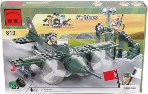 Параметры Конструктора Shantou Gepai Brick Самолет 69707.