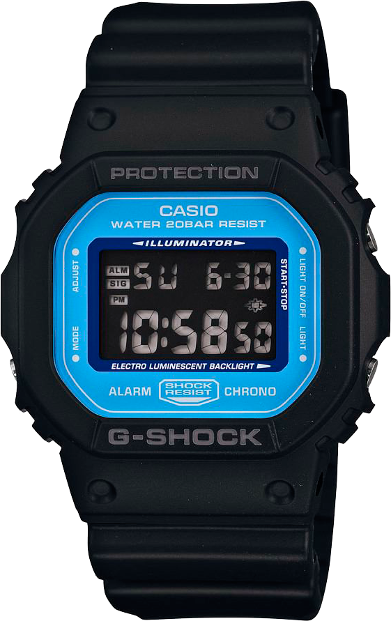 Инструкция для Casio G-Shock DW-5600E-1V.