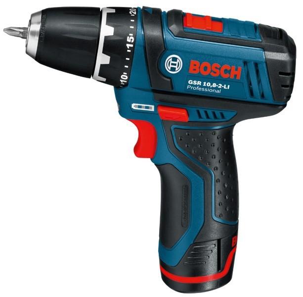 Аккумуляторный шуруповерт Bosch GSR 10.8-2-LI 0601868101 - профессиональный инструмент для работы с крепежом в...