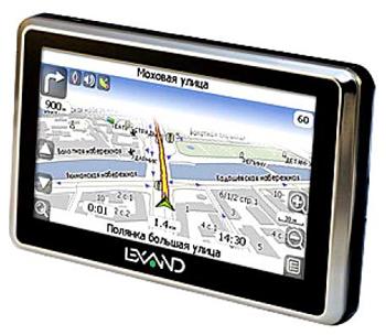 Купить GPS навигатор Автомобильный Lexand SI-515+ A5 Black - Интернет-магазин...