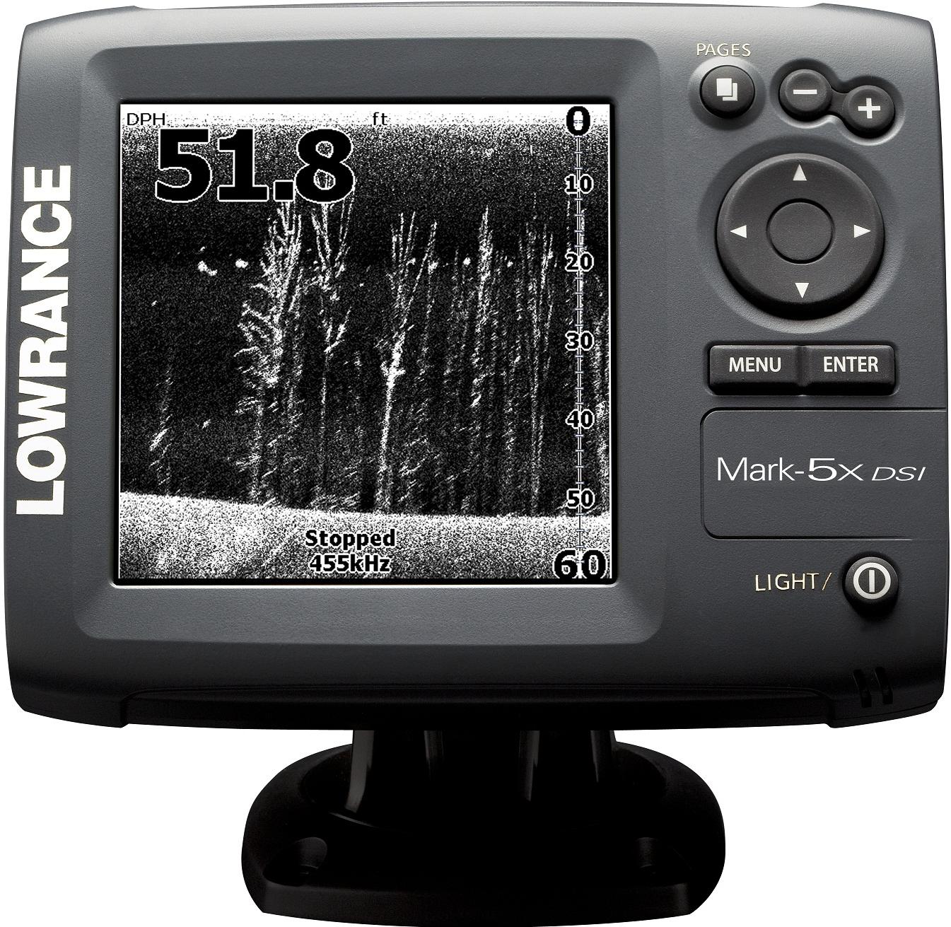 lowrance mark-5x dsi и lowrance mark-5x pro