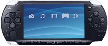 PSP Slim Base 2006 Black.
