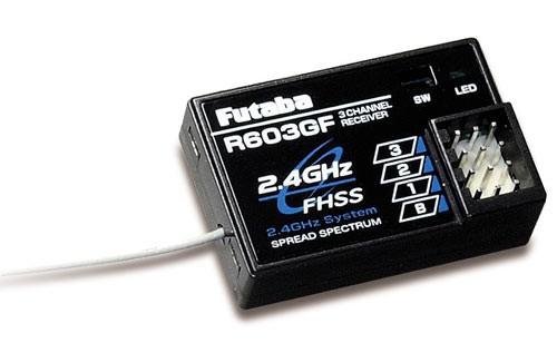 """Мультимедиа.  Приемники.  Аксессуары.   """"Futaba Receiver R603GF 2.4Ghz."""