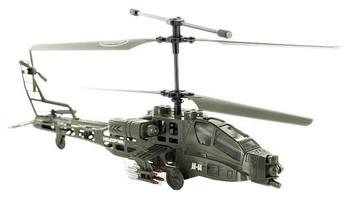 Радиоуправляемый вертолет Syma Apache Military S009 с гироскопом.