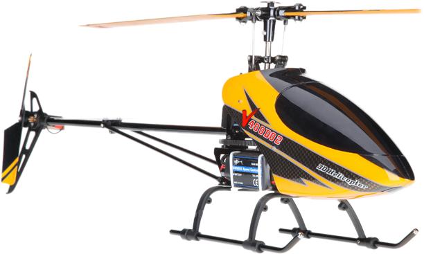 Вертолет Walkera V400D02 предназначен для опытных пилотов.  Модель построена на классической схеме строения винтов и...
