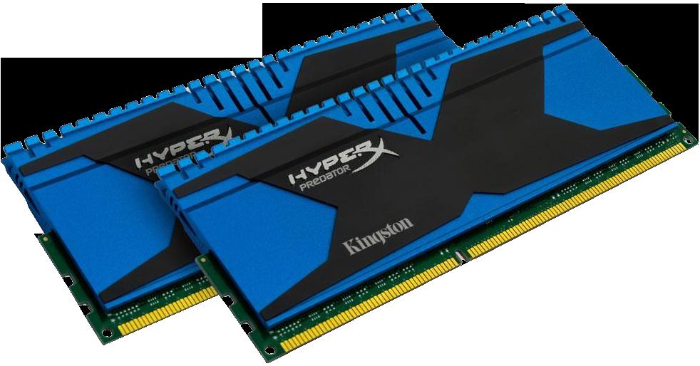 Оперативная память Kingston HyperX OC KIT DDR3 2x4GB 2133MHz CL11 XMP Predator.