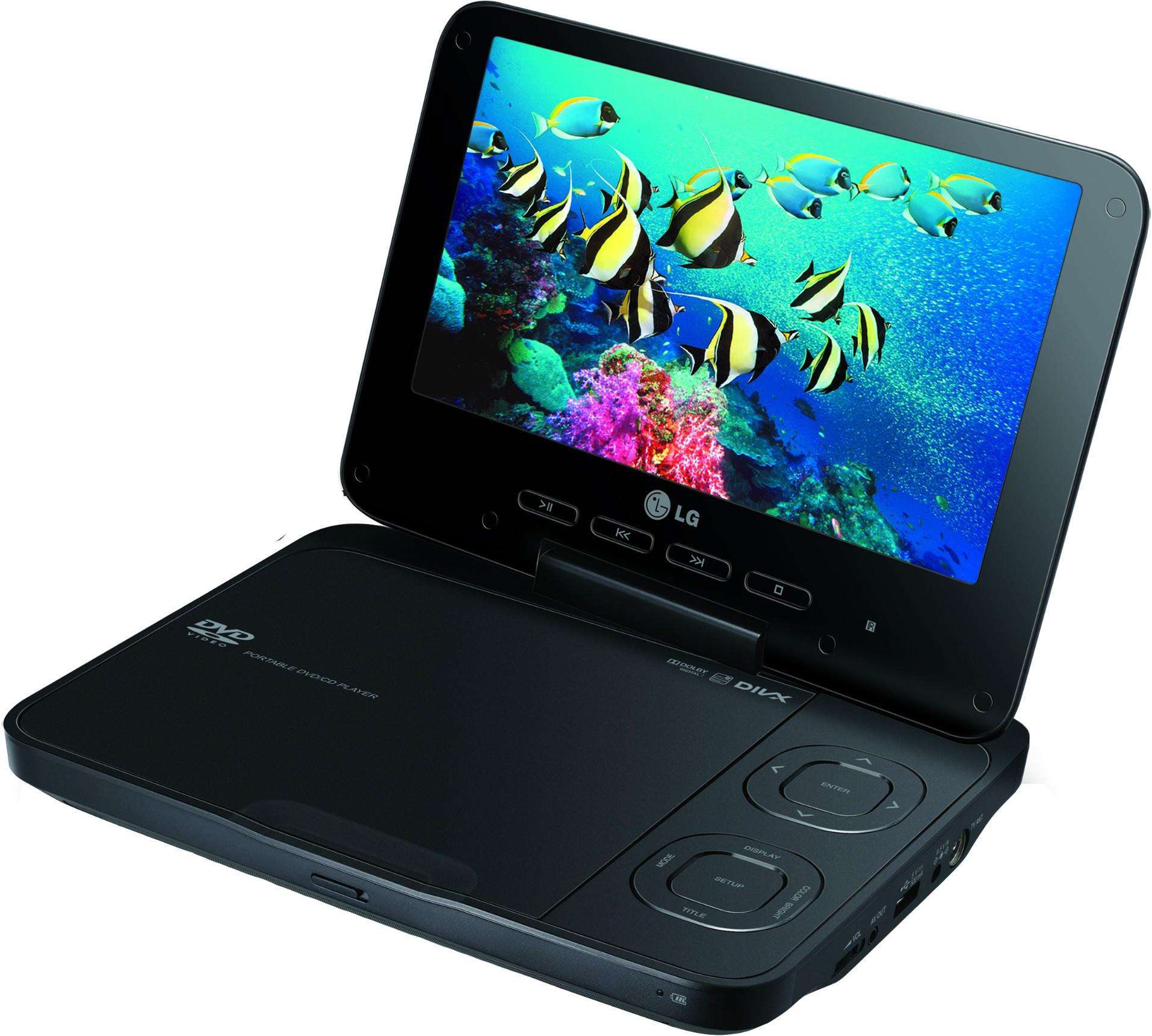 Портативный DVD плеер LG DT924A купить под заказ в магазине МастерКомп город Коростень.