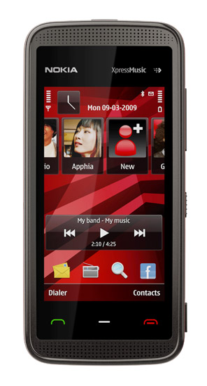 Nokia 5530 XpressMusic (Black/Red)