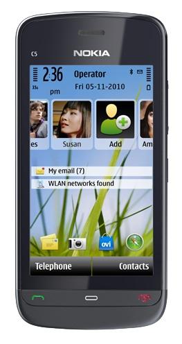 Nokia C5-03 Lime Green Мобильный телефон (зеленый)
