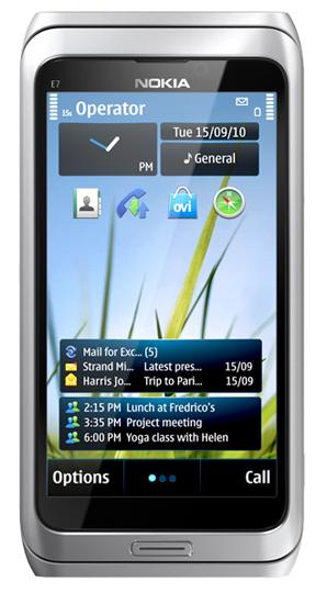 За неделю Nokia  продала в России 200 смартфонов E7