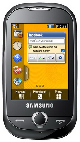 Samsung S3653 Corby