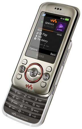 W395 Sony Ericsson драйвер