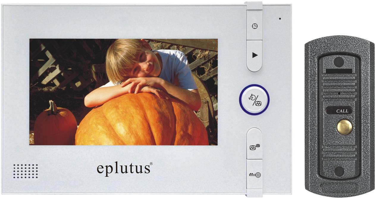 Видеодомофон с записью фото - eplutus ep-2296 по низкой цене.
