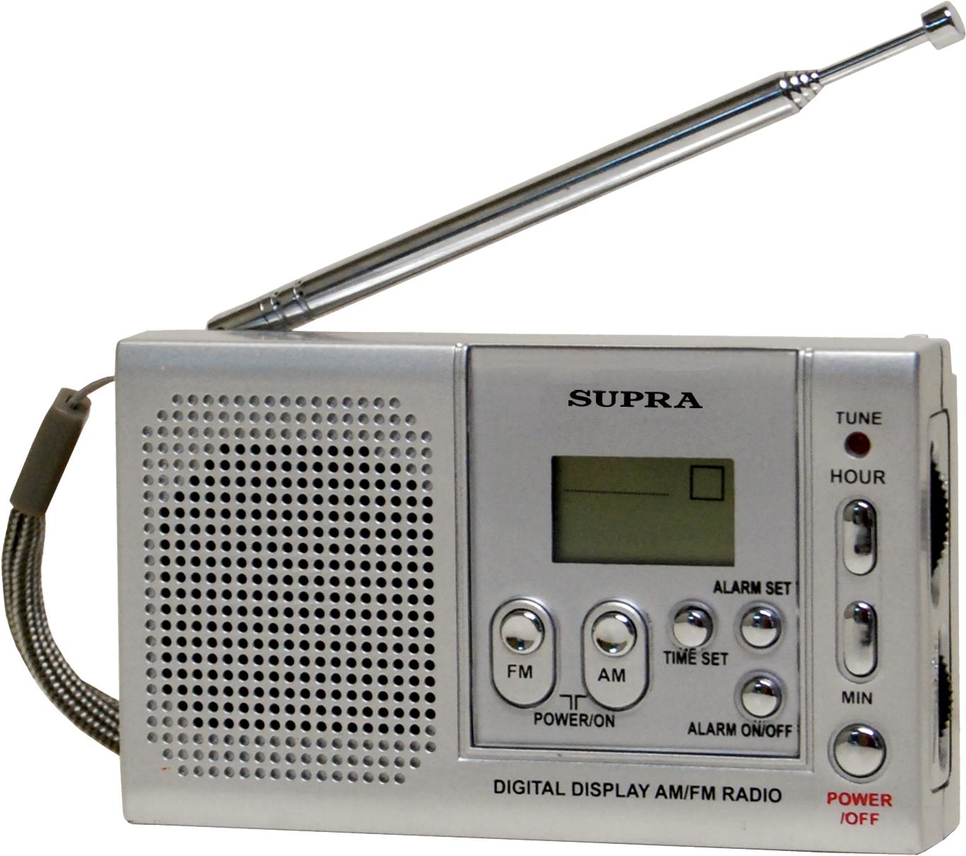 Радиоприемник Supra ST-115 купить в интернет-магазине, цена.